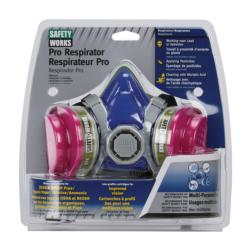 Safety Works® Half Mask PRO Multi-Purpose Respirator